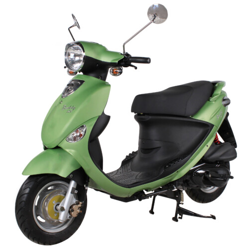 Lime Green Genuine Buddy 125