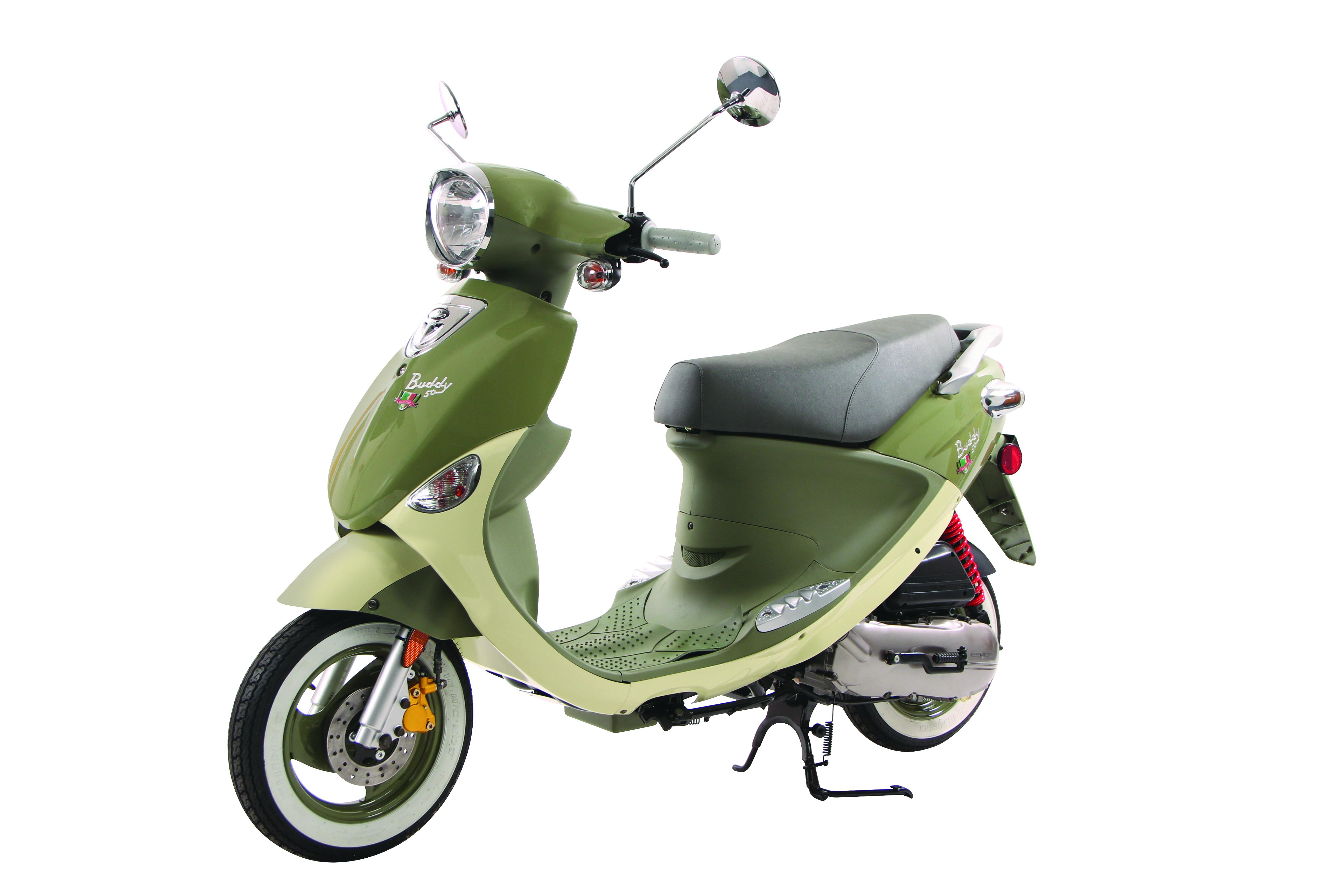 Italia Green Genuine Buddy 50 International