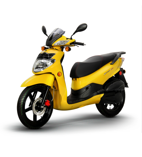 Yellow Sym HD 200 Evo_Scoots