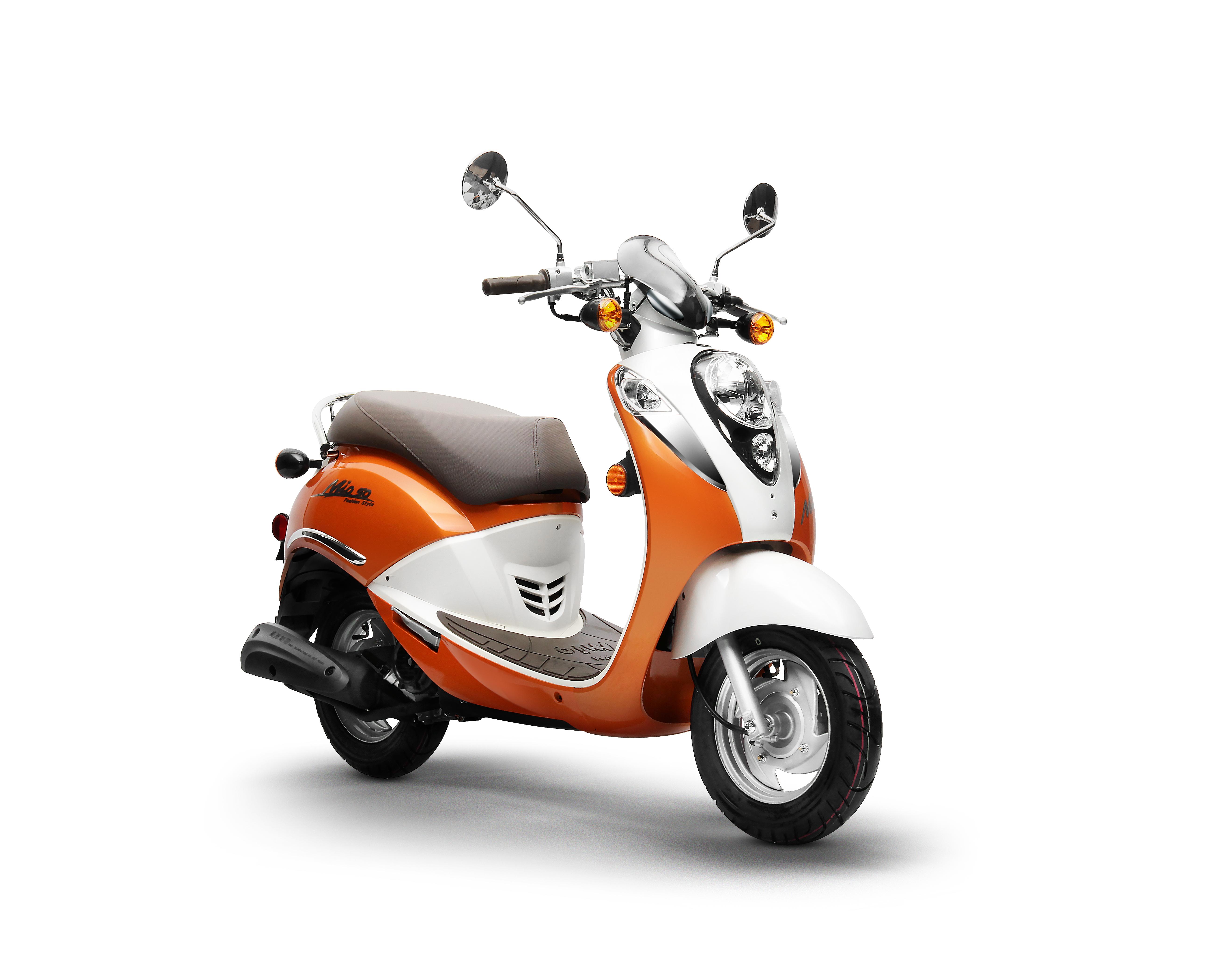 Orange Sym Mio 50_Scoots