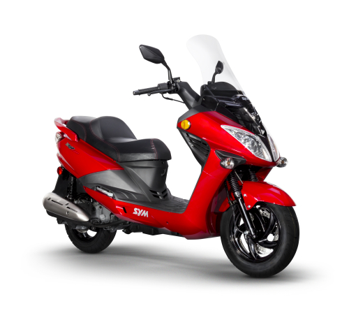 Red Sym RV 200 Evo_Scoots