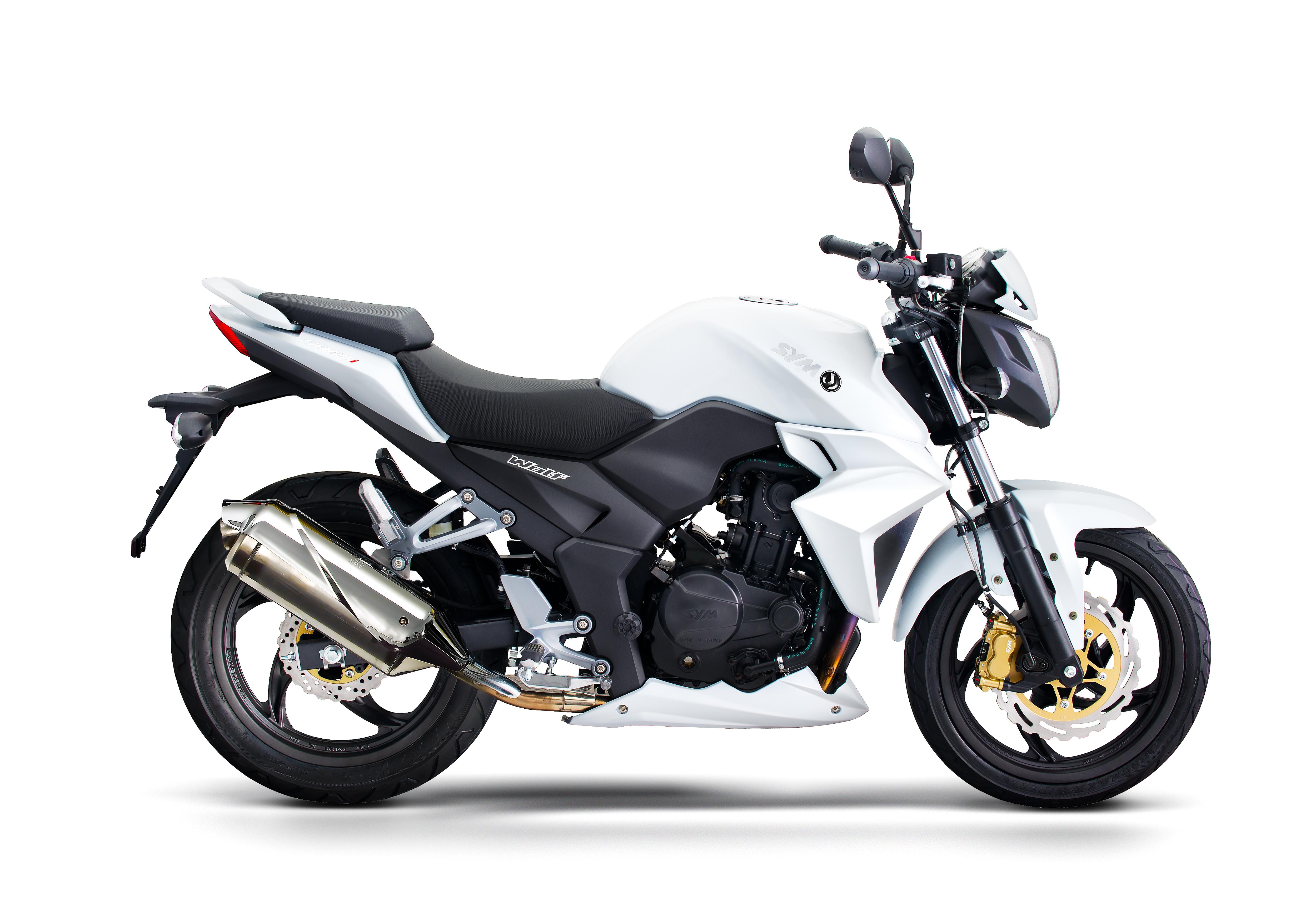 White Sym T2 250i_Scoots