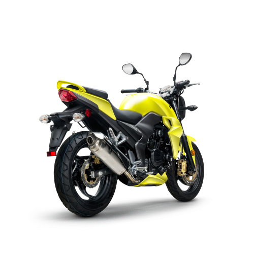 Yellow Sym T2 250i_Scoots