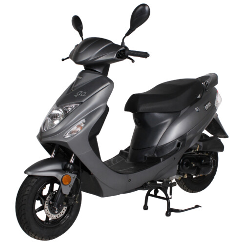 Matte Gray Chicago Scooter Company Go
