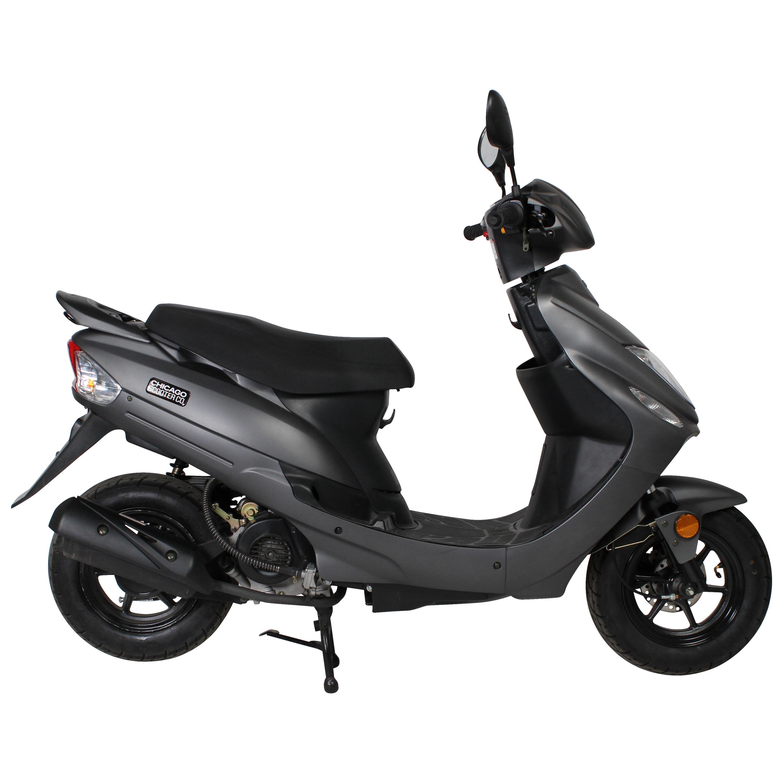 Matte Gray Chicago Scooter Company Go