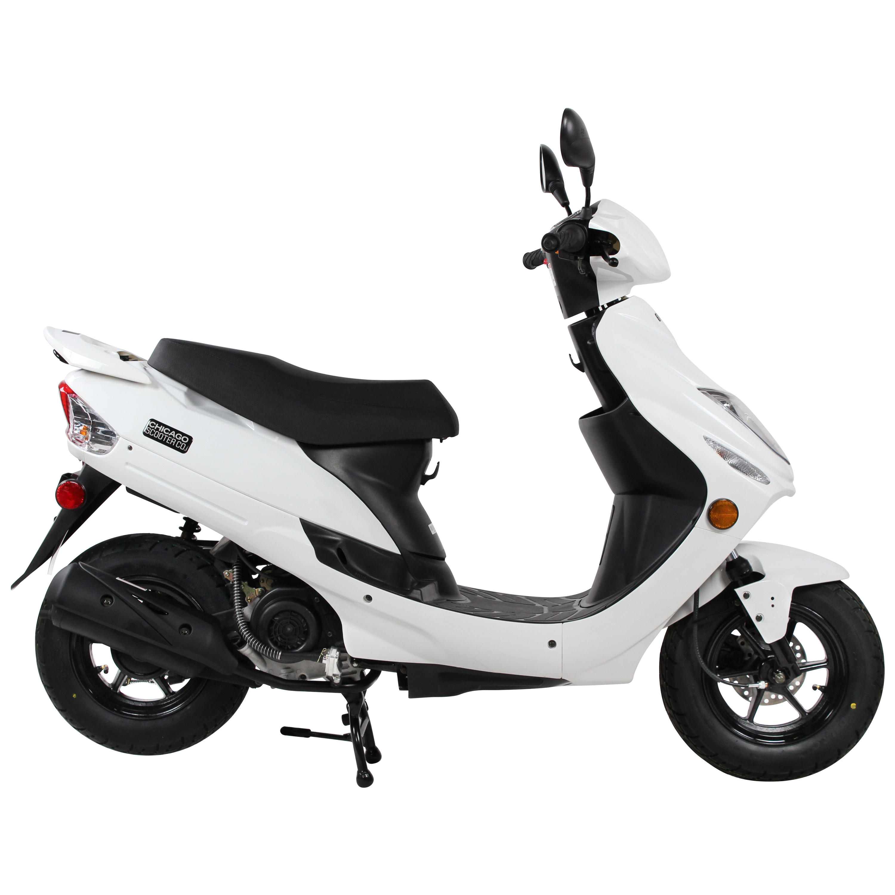 White Chicago Scooter Company Go